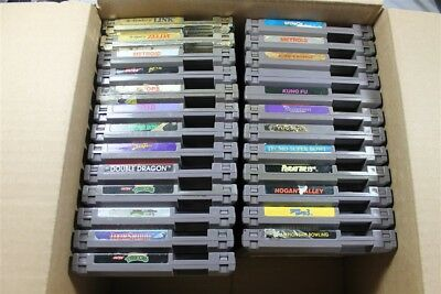 Nintendo NES Lot Of 25 Classic Games (Discounted)