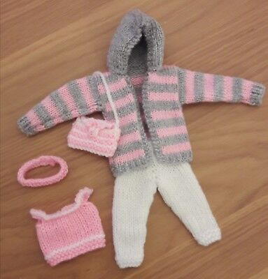 Barbie 12 inch doll outfit knitted