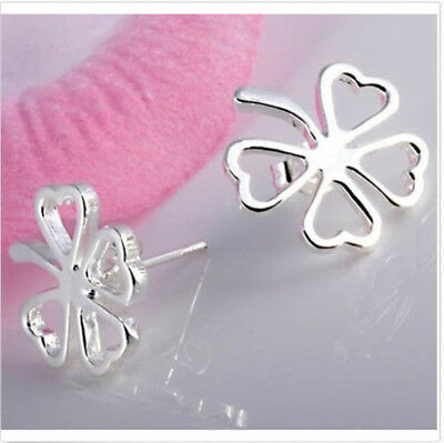 wholesale Fine Jewelry Solid 925Silver Fashion beautiful leaves Earrings