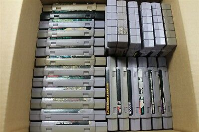 Lot of 25 Super Nintendo Games - Discounted