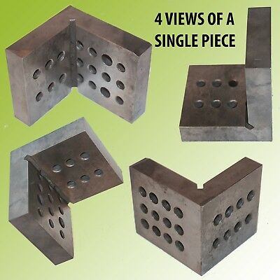 Right Angle Bench Block With Threaded Holes On Both Sides