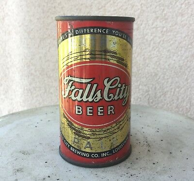 Falls City Extra Pale Flat Top Rare Beer Can