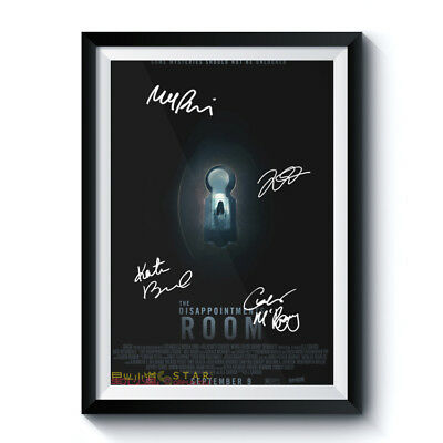 THE DISAPPOINTMENTS ROOM Casts Autograph Poster Reprint Movie Home Art Deco