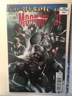 VENGEANCE OF THE MOON KNIGHT #10 NM- 1st Print LAST ISSUE Mattina Cover