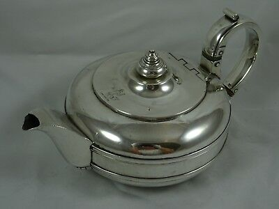GEORGE IV solid silver TEA POT, 1828, 539gm