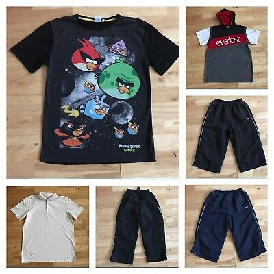 Bundle boys clothes age 12-13 years free postage cropped tracksuit bottoms tops