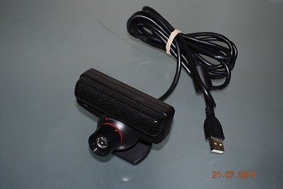 Official Sony Playstation 3 PS3 Eye Camera (Curved Lens) **FREE UK POSTAGE**