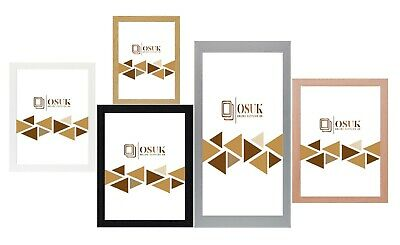 Photo Picture Frame Maxi Poster Frame Large Multiple Sizes Black White Oak Pine