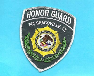 Texas-Fci Seagoville Prison Honor Guard Unit-Federal Prison