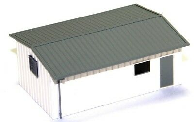 N Scale - Armco Steel Work Shop Building - Assembled - DLX-351