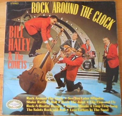 "Bill Haley & The Comets* ‎– Rock Around The Clock LP Album 12"" Vinyl  Record"
