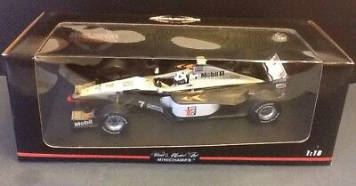 MINICHAMPS 1/18 1991 MCLAREN MP4/13 - DAVID COULTHARD  New Unopened MIB