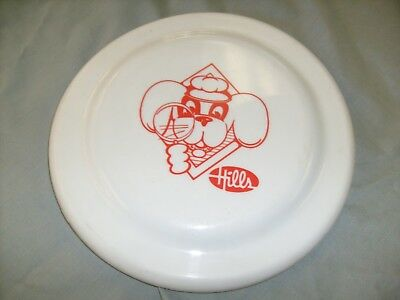Vintage  Hills Department Store Plastic Frisbee 9 inch disc rare / ad / f9