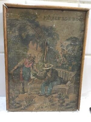 ANTIQUE EARLY 19c JIGSAW BOX BY DARTON LONDON (NO CONTENTS)