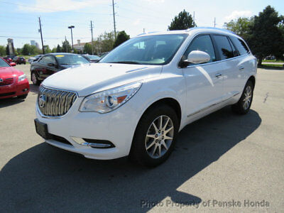 2017 Buick Enclave AWD 4dr Leather AWD 4dr Leather SUV Automatic Gasoline V6 Cyl WHITE
