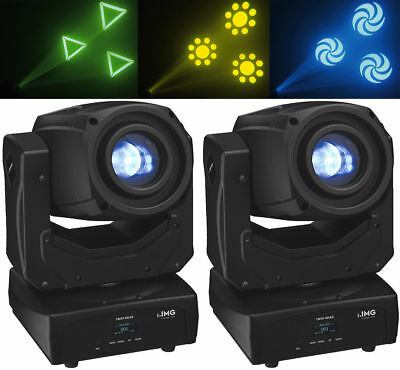 "MEGA DEAL! 2x IMG Stage Line ""TWIST-60LED"" Moving Head! 60 Watt CREE LED! Prisma"