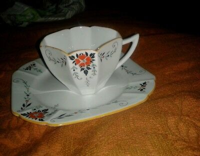 Shelley cup and saucer rare 1900s