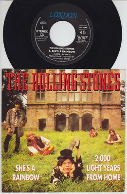 The ROLLING STONES * She's A Rainbow * 1990 Dutch 45 * PSYCH *