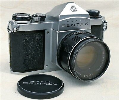 Pentax S1a SLR with 55mm f2 lens.