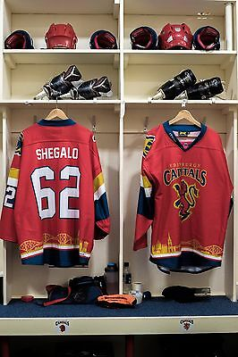 Edinburgh Capitals Scottish Cup game worn shirt #62 Shegalo