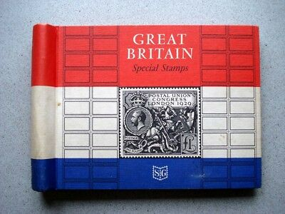 G.B. SPECIAL STAMPS ALBUM 1924-67 - Stanley Gibbons - 67 pages - 124 stamps.