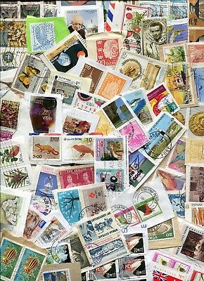 STAMPS KILOWARE MIXED COUNTRIES 225g. GOOD SELECTION OF COUNTRIES.