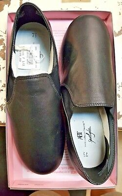 American Ballet Theatre Neoprene Jazz 138701 D25 Teen Size Shoes Brand New Black