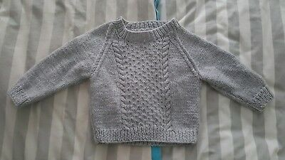 9-12 months boys knitted jumper