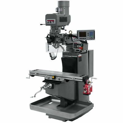 Jet 690520 JTM-949EVS Mill With Acu-Rite 200S DRO With X-Axis Powerfeed