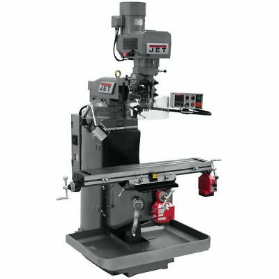 Jet 690503 JTM-949EVS Mill With X and Y-Axis Powerfeeds