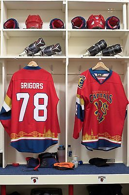 Edinburgh Capitals Scottish Cup game worn shirt #78 Grigors