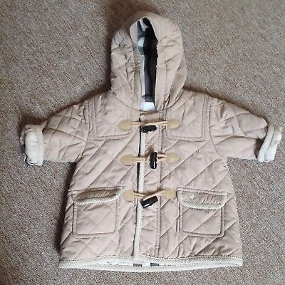 Baby Boys Burberry Duffle Coat 0-3 Months