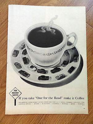 1955 Coffee-Break Ad  If you take One for the Road Make it Coffee