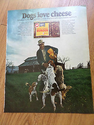 1971 Ken-L-Ration Dog Food Ad Beagle Dalmatian German Short Hair Dogs