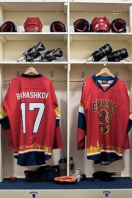 Edinburgh Capitals Scottish Cup game worn shirt #17 Banashkov