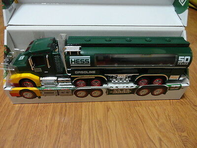 HESS TRUCK Collectible Lot - 50th Anniversary 2014 Collectors Edition Hess Truck