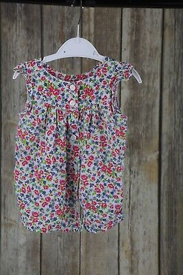 Girls floral top 18-24 Months