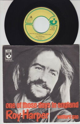 Roy HARPER * One Of Those Days * 1977 Dutch 45 * English FOLK PROG PSYCH 45 *