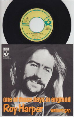 Roy HARPER * One Of Those Days * 1977 Dutch 45 * UK FOLK PROG PSYCH 45 *