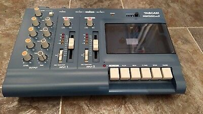 tascam 4 track retro analogue recorder complete with mains adaptor.