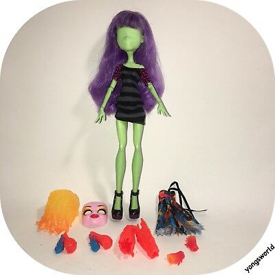 Monster High Create A Monster Design Lab Doll Outfit Inner Accessories Lot