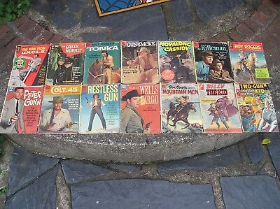 29 Vintage Comic Books Mostly 1950's & 60's Mid-To-Low Grade