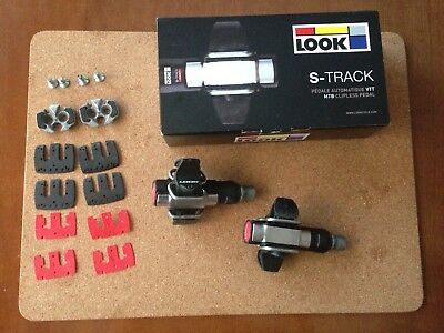LOOK S-Track Pedales Mtb  Clipless Pedals