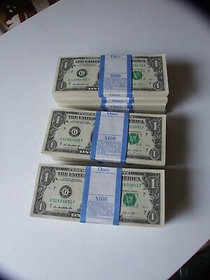 2013 Collectible Chicago, Il Pack Of 100 One Dollar Bills Mint !!!!!