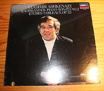 NEU SEALED: Vladimir ASHKENAZY Rachmaninov Sonata, Etudes LP LONDON CS