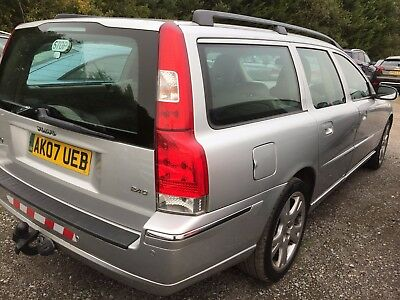 07 Volvo V70 2.4 D 163 Bhp Se Sat Nav, Climate, Alloys, Cd, Cruise,electric Roof