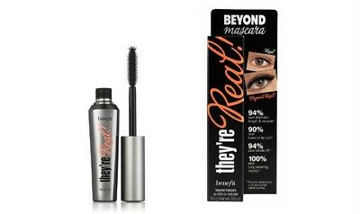 They're Real Beyond Benefit Mascara Black Eyelash Extension Lash Brand New Boxed