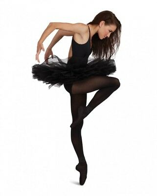Practice Tutu Girls Adult Medium Ballet Dance Rehearsal NWT Black Swan Costume M