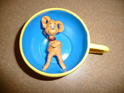 Hallmark Limited Edition Dr Seuss Pup in a Cup Rare Version Coffee Cup Dog Lover
