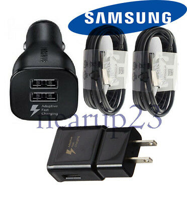Original Samsung Galaxy S8 S8plus Note 8 Adaptive Fast OEM + Car Charger+Type-C